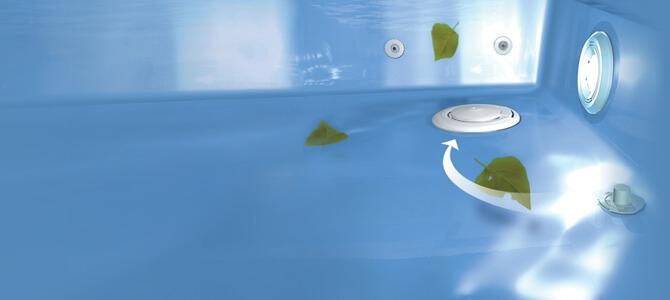 система самоочистки бассейна