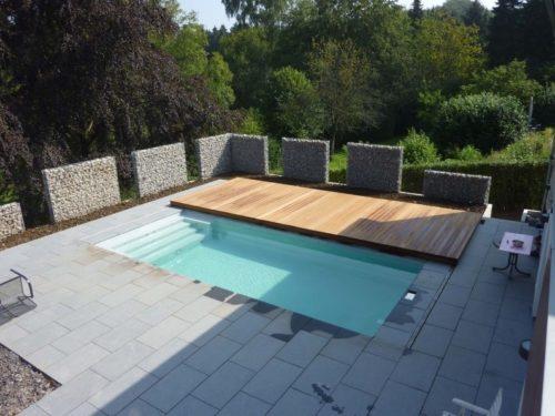 Автоматическое покрытие для бассейна