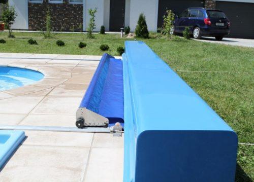 защитное покрывало для бассейна из специальной полипропиленовой ткани